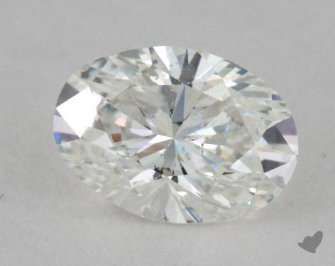 0.52 Carat F-SI2 Oval Cut Diamond