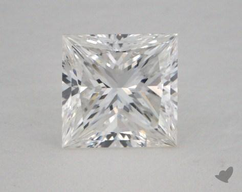 1.51 Carat E-SI1 Princess Cut  Diamond