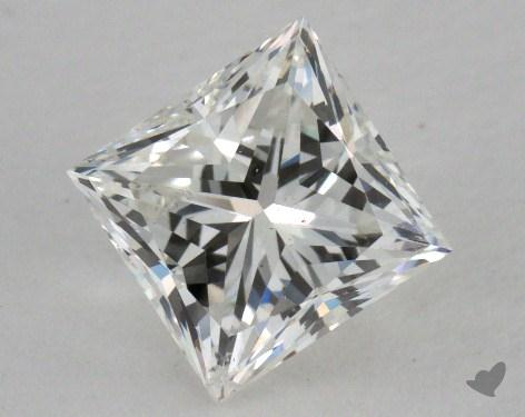1.05 Carat H-SI1 Princess Cut Diamond