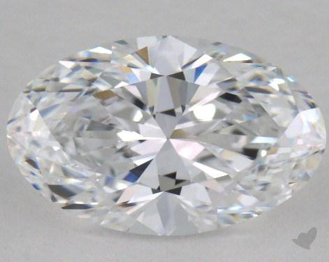 1.54 Carat D-VS2 Oval Cut  Diamond