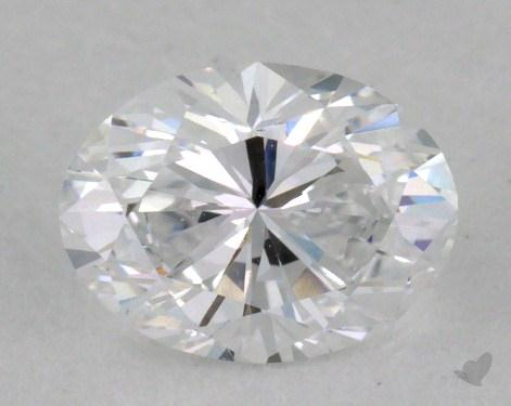 0.67 Carat D-VVS1 Oval Cut  Diamond