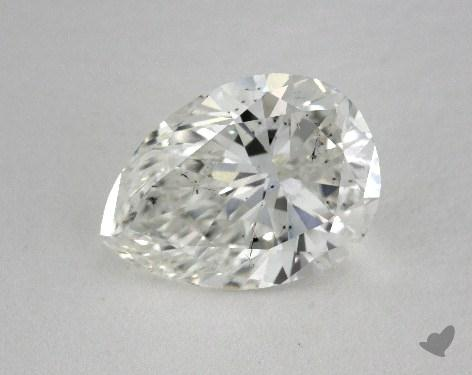 2.04 Carat H-SI1 Pear Shaped  Diamond