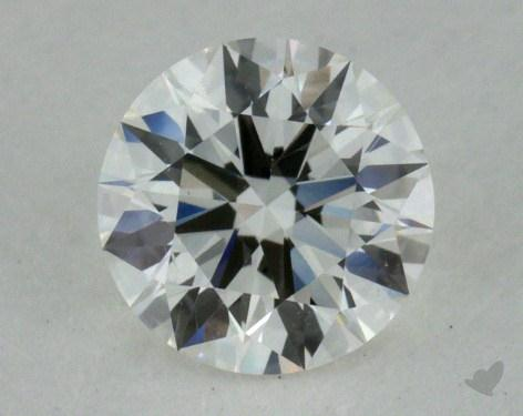 0.51 Carat H-SI1 Excellent Cut Round Diamond