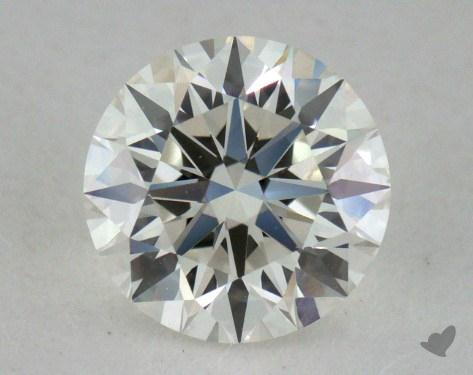 0.78 Carat I-VVS1 Excellent Cut Round Diamond