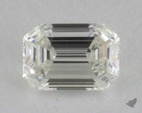 0.51 Carat H-VVS1 Emerald Cut Diamond