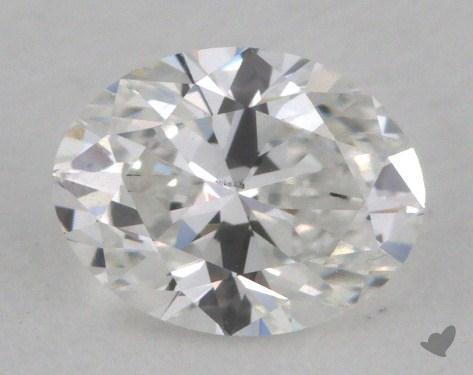 0.50 Carat E-SI1 Oval Cut Diamond
