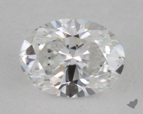 0.71 Carat E-SI1 Oval Cut Diamond