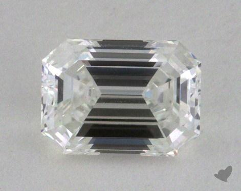 0.80 Carat H-VVS1 Emerald Cut Diamond