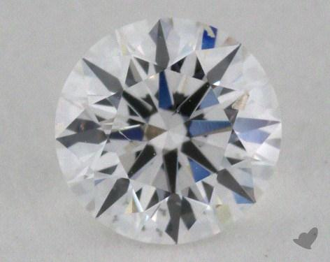 0.53 Carat E-SI1 Excellent Cut Round Diamond