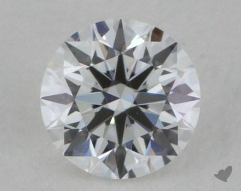 0.23 Carat E-VS2 Excellent Cut Round Diamond