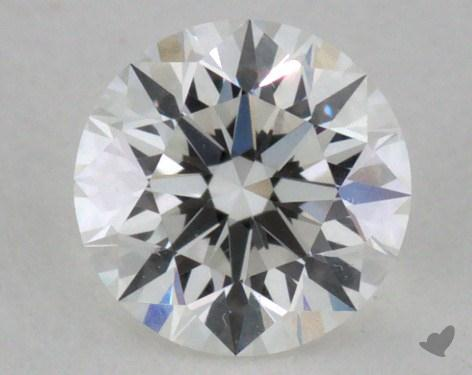 0.26 Carat E-VVS1 Excellent Cut Round Diamond