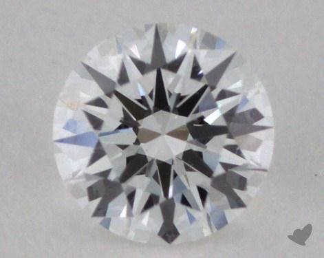 0.26 Carat E-VS2 Excellent Cut Round Diamond