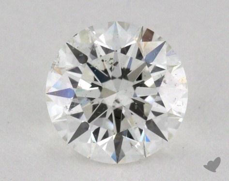 0.81 Carat G-SI2 Excellent Cut Round Diamond