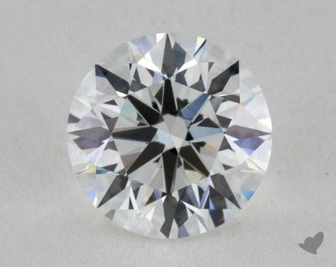 0.90 Carat F-VVS1 Excellent Cut Round Diamond