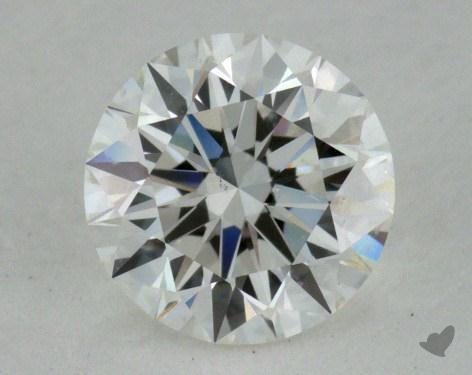 0.57 Carat G-SI1 Excellent Cut Round Diamond