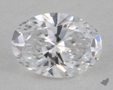 0.53 Carat D-IF Oval Cut  Diamond