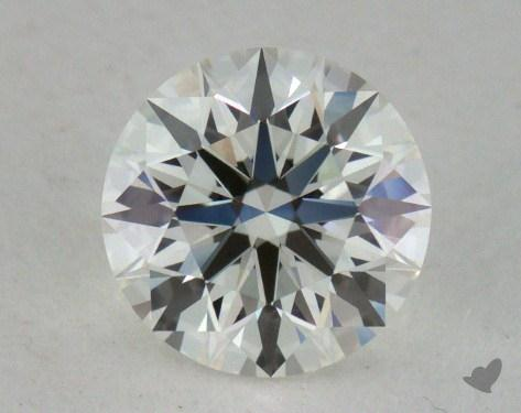 0.71 Carat H-VVS2 True Hearts<sup>TM</sup> Ideal Diamond