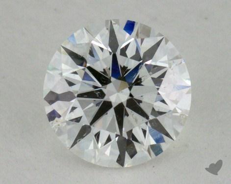 0.71 Carat F-SI2 True Hearts<sup>TM</sup> Ideal Diamond