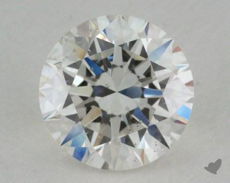 0.71 Carat H-SI2 Very Good Cut Round Diamond
