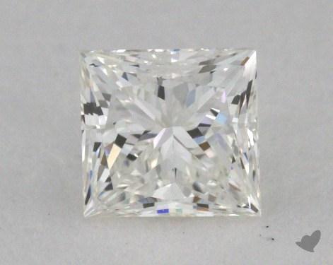 0.45 Carat J-VVS2 Ideal Cut Princess Diamond