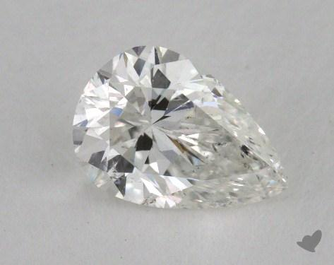 0.83 Carat G-SI2 Pear Shaped  Diamond