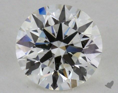 1.02 Carat H-SI2 Excellent Cut Round Diamond