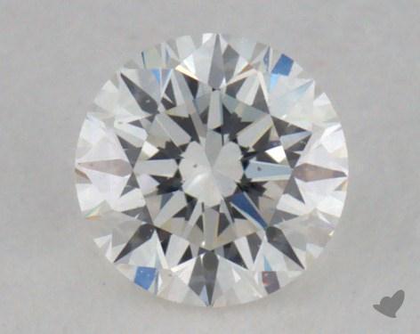 0.25 Carat H-VS2 Very Good Cut Round Diamond