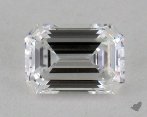 0.64 Carat D-IF Emerald Cut Diamond
