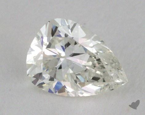 0.74 Carat I-SI2 Pear Shape Diamond