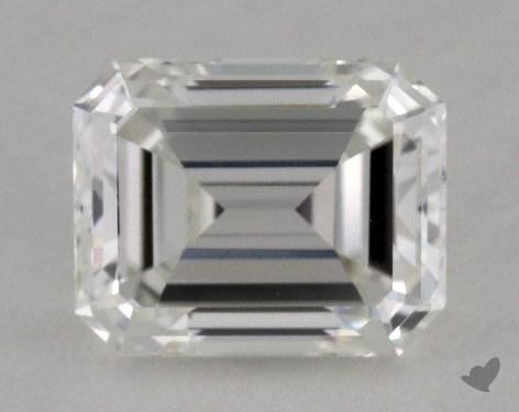 0.68 Carat H-VVS2 Emerald Cut Diamond
