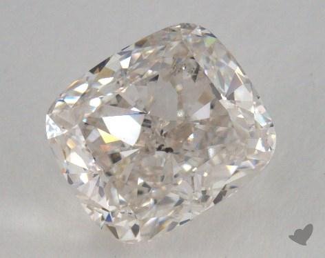 2.02 Carat H-SI2 Cushion Cut  Diamond