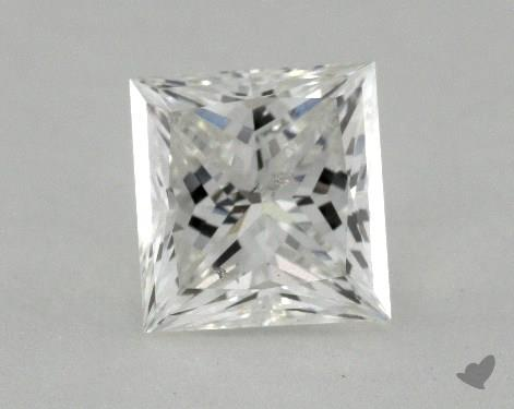 1.38 Carat G-I1 Ideal Cut Princess Diamond