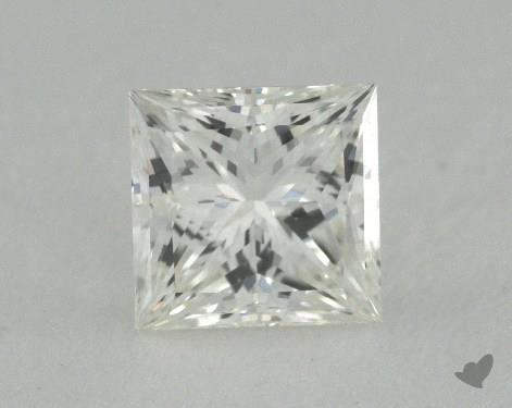 0.61 Carat I-VVS1 Ideal Cut Princess Diamond