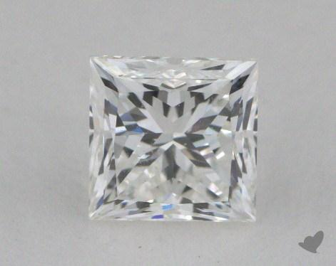 1.00 Carat G-SI1 Excellent Cut Princess Diamond
