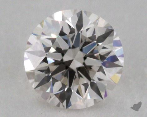 0.40 Carat H-VS1 Excellent Cut Round Diamond 