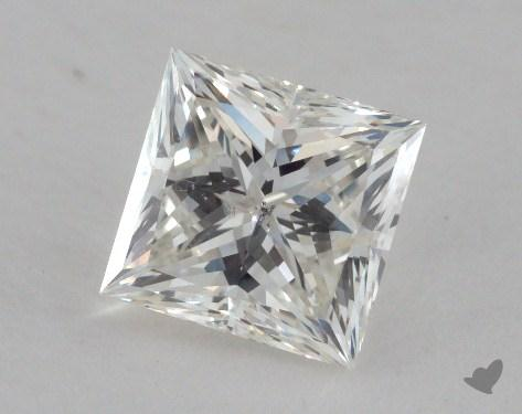 1.26 Carat I-SI2 Princess Cut Diamond