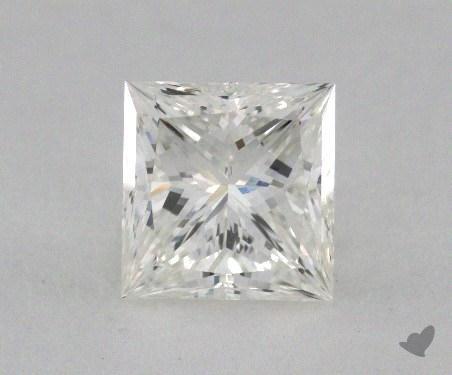1.14 Carat I-VVS1 Ideal Cut Princess Diamond