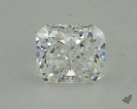 0.81 Carat E-SI2 Radiant Cut  Diamond