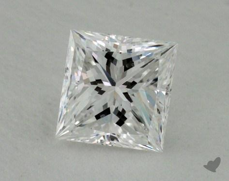 1.01 Carat E-VS2 Ideal Cut Princess Diamond