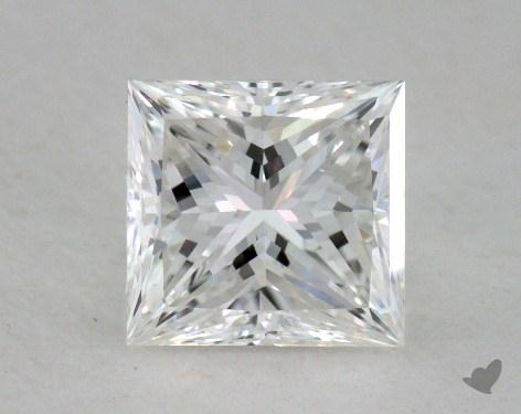1.17 Carat F-VVS1 Ideal Cut Princess Diamond