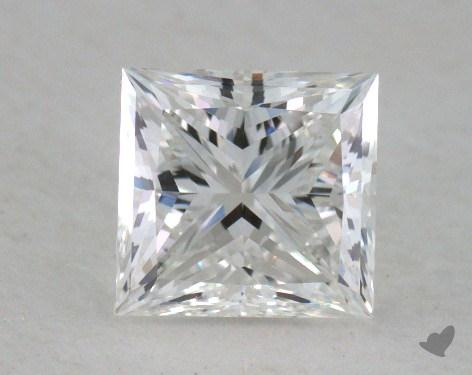 1.01 Carat F-VVS2 Ideal Cut Princess Diamond