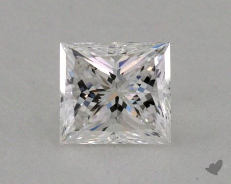 1.00 Carat F-VVS2 Very Good Cut Princess Diamond