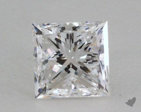 1.00 Carat F-VS1 Very Good Cut Princess Diamond