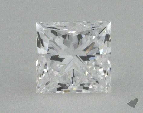 <b>0.53</b> Carat D-VVS1 Princess Cut Diamond 