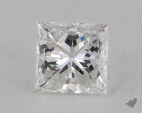0.42 Carat D-SI1 Very Good Cut Princess Diamond