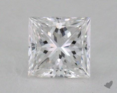 1.04 Carat E-SI1 Princess Cut Diamond