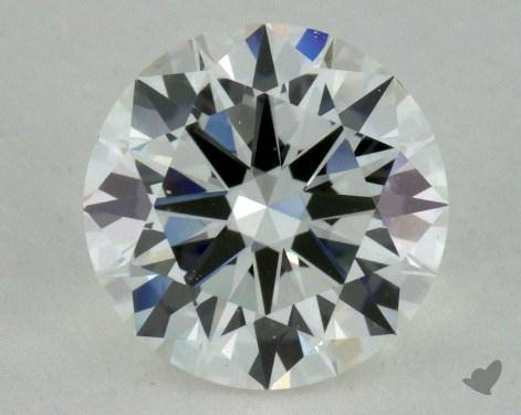 1.00 Carat H-VVS2 Very Good Cut Round Diamond