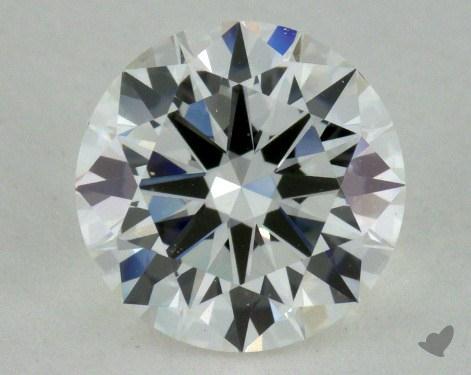 1.00 Carat H-VVS2 Very Good Cut Round Diamond