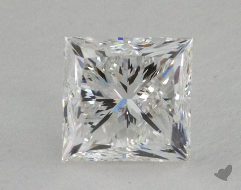 1.00 Carat F-SI1 Good Cut Princess Diamond