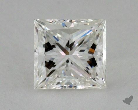 1.06 Carat G-VS1 Ideal Cut Princess Diamond